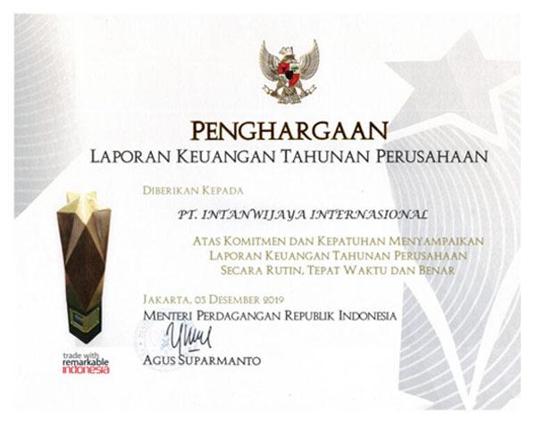 Penghargaan IWI